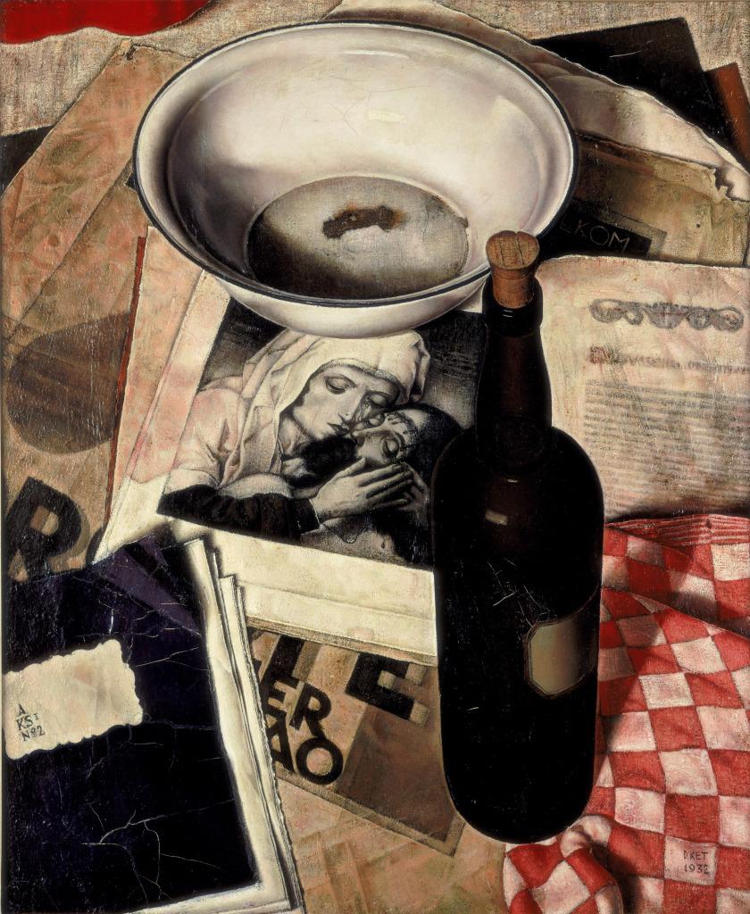 Dick Ket (1902-1940):  Stilleven met Piëta, 1932