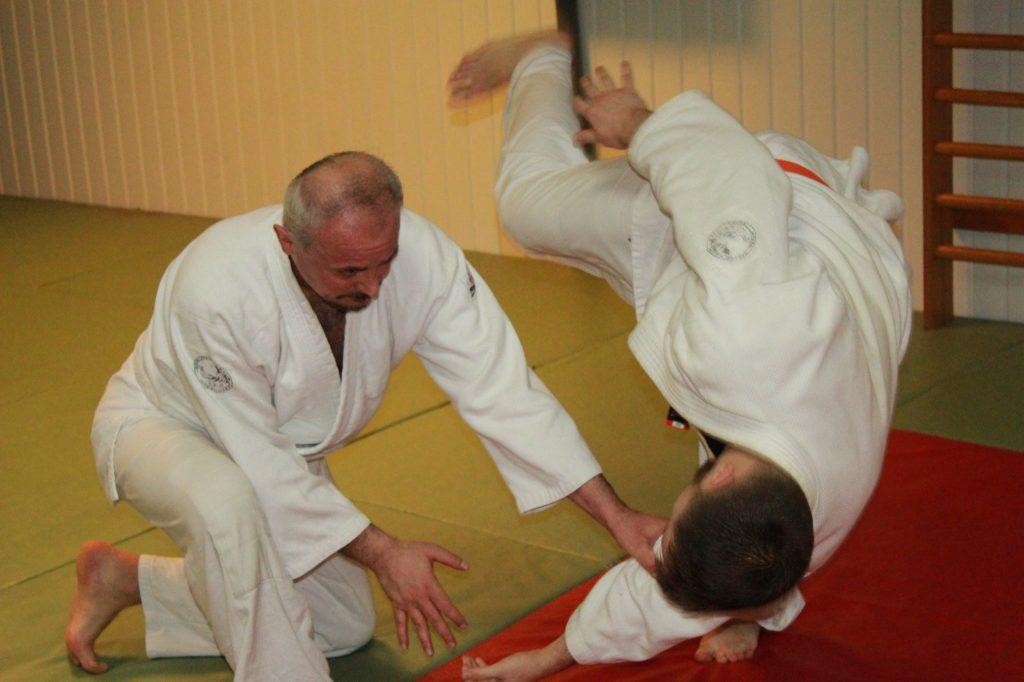 A harcművészetek művelőjeként (Gy. T. magánarchívum)