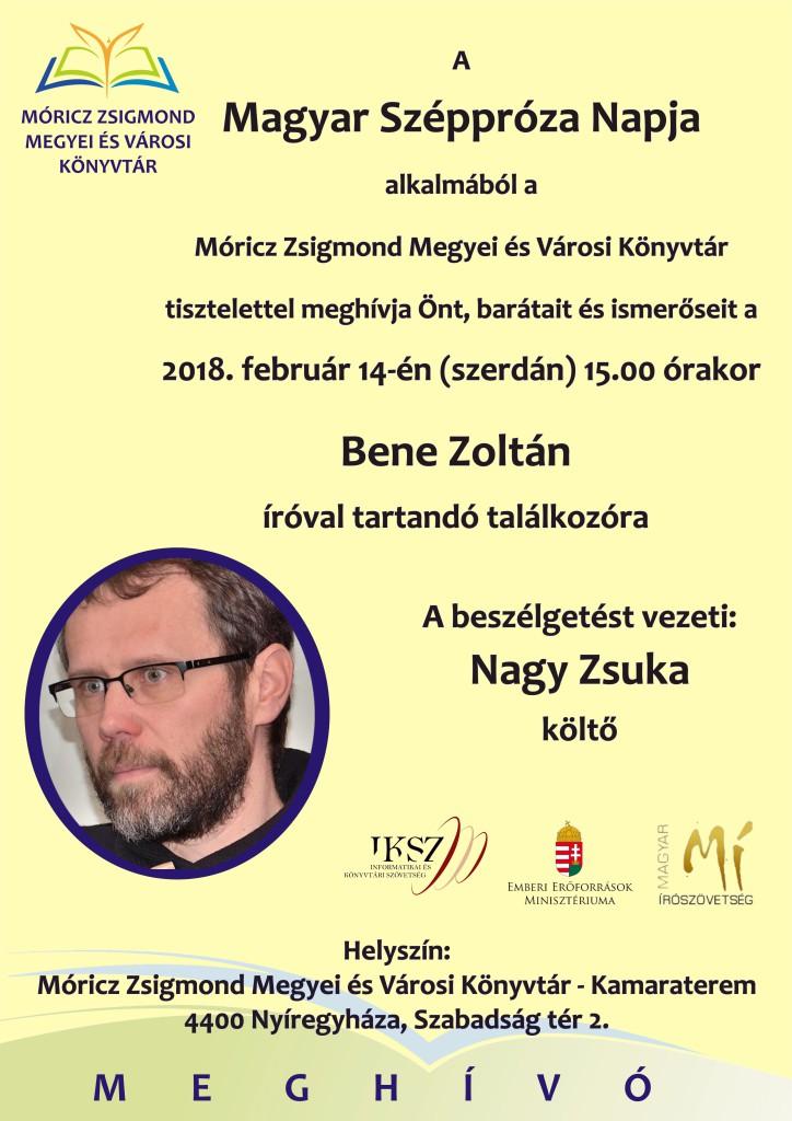 Bene Zoltán plakát