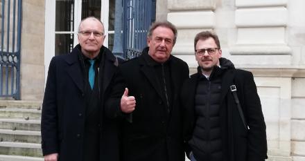 Rangos irodalmi elismerést vehetett át három magyar költő Párizsban