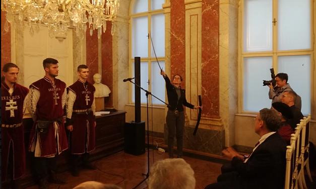 László Noémié és Vahram Martiroszjané a Balassi-emlékkard